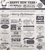 Weihnachtsset Lizenzfreie Stockbilder