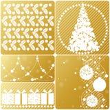 Weihnachtsset. vektor abbildung