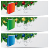 Weihnachtssitefahnen Lizenzfreie Stockbilder