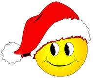 Weihnachtssmiley Lizenzfreies Stockfoto