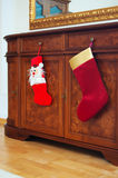 Weihnachtssocken Lizenzfreies Stockbild