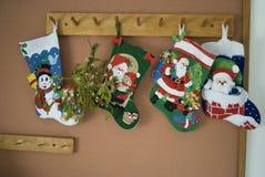 Weihnachtssocken Stockbilder