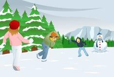 Weihnachtsspaß Lizenzfreie Stockfotografie