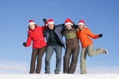 Weihnachtsspaß Lizenzfreie Stockfotos