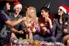 Weihnachtsspaß Lizenzfreies Stockbild