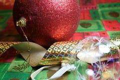 Weihnachtsspeicher Stockbild