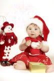 Weihnachtsspiel Lizenzfreie Stockfotos