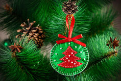 Weihnachtsspielzeug Lizenzfreies Stockbild