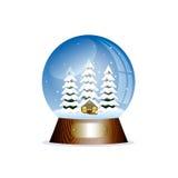 Weihnachtsspielzeug-Schneekugel Lizenzfreies Stockbild