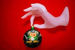 Weihnachtsspielzeugdekoration; Lizenzfreie Stockfotografie
