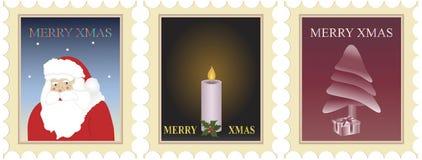 Weihnachtsstempel Lizenzfreies Stockfoto