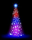 Weihnachtsstern stock abbildung