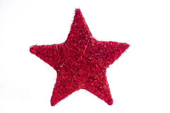 Weihnachtssterndekoration Lizenzfreies Stockbild