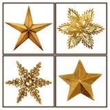 Weihnachtssterne Stockfotos