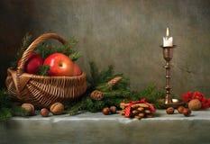 WeihnachtsStillleben Lizenzfreie Stockbilder