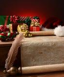 Weihnachtsstillleben Stockbild