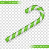 Weihnachtsstock, Süßigkeit vektor abbildung
