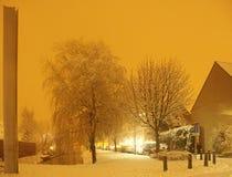 Weihnachtsstraße Stockfotografie