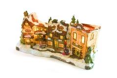 Weihnachtsstraße Stockbild