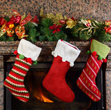 Weihnachtsstrumpf Lizenzfreie Stockfotos