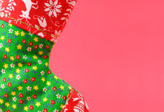 Weihnachtsstrumpf-Feld Lizenzfreie Stockfotos