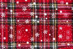 Weihnachtsstrumpf-Hintergrund-Beschaffenheit lizenzfreie stockfotos