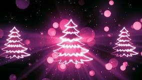 Weihnachtssymbole 14 stock video footage