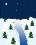 Weihnachtsszene Stockfoto