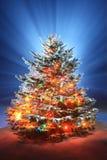 Weihnachtsszenisches Foto Stockfoto