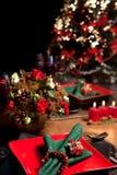 Weihnachtstabelle 10 lizenzfreies stockfoto