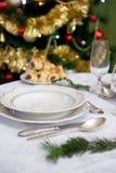 Weihnachtstabelle Lizenzfreies Stockfoto