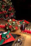 Weihnachtstabelle 3 stockfoto