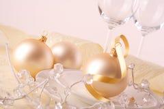Weihnachtstabelle stockfotos