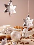 Weihnachtstabelle Lizenzfreie Stockbilder