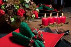 Weihnachtstabelle 6 Lizenzfreie Stockbilder