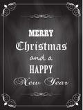 Weihnachtstafel Stockfotos