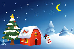 Weihnachtstag Stockfoto