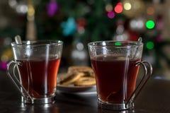 Weihnachtstee Stockfotografie