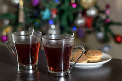 Weihnachtstee Lizenzfreies Stockfoto