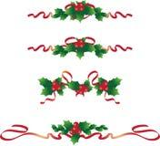 Weihnachtstextteiler 2 lizenzfreie abbildung
