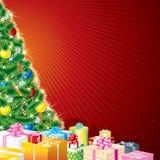 Weihnachtsthema Lizenzfreies Stockbild