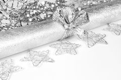 Weihnachtstischschmuck stockfotos