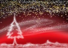 Weihnachtstraum Stockfoto