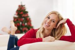 Weihnachtstraum Lizenzfreies Stockbild