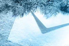 Weihnachtsumschlag lizenzfreie stockfotografie