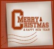 Weihnachtsuni-Stempel Lizenzfreie Stockfotografie
