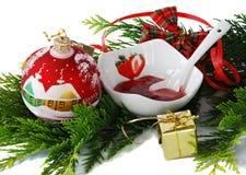 Weihnachtsunterhaltung Stockfotos
