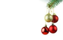 Weihnachtsunverwüstlicher gezierter Baum Stockfoto