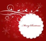 Weihnachtsvektor-Illustrations-Hintergrund Stockbilder
