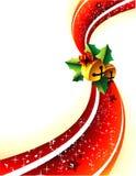 Weihnachtsvektorabbildung Lizenzfreies Stockfoto